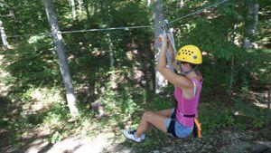 Zip Lining Nashville In Brown County Ziplining Brown County Bloomington Indiana