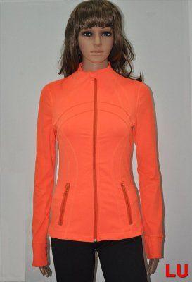 Lululemon Outlet Define Jacket For Women Orange Cyber