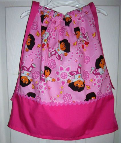 Dora Pink Pillowcase Dress by Vicky's Cute Creations on Etsy.com, $20.00