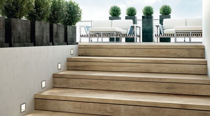 Escalier D Exterieur En Bois Modulesca 93 Cm Mdsa France Escalier Exterieur Coffrage Escalier Escalier