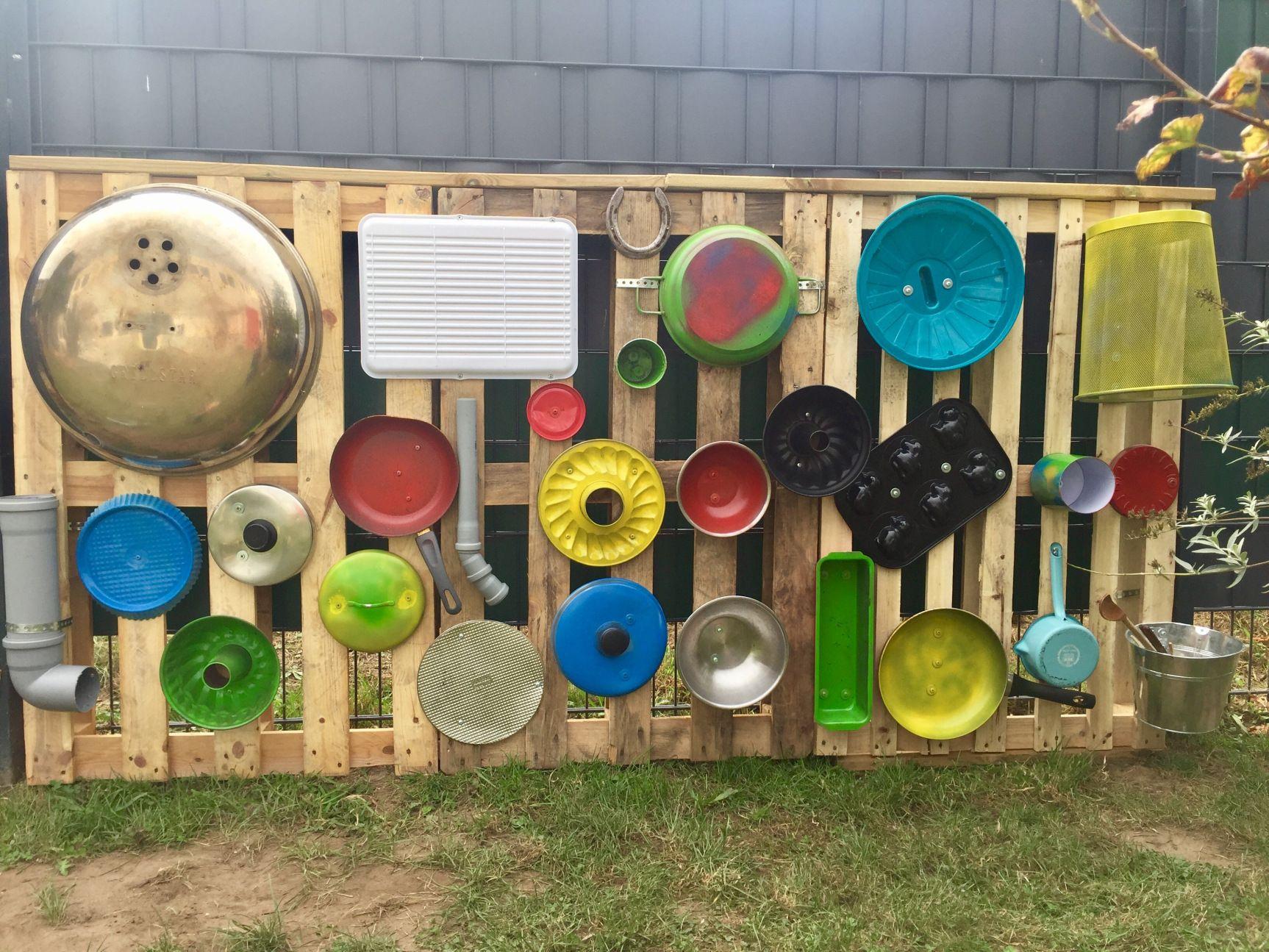 Photo of Musikwand in der Kindertagesstätte installiert