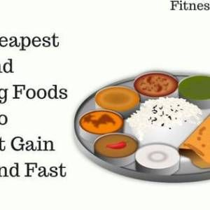 Top Cheapest and Amazing Foods To Weight Gain Quick and Fast images