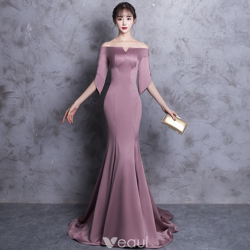 Chic / Beautiful Evening Dresses 2018 Trumpet / Me
