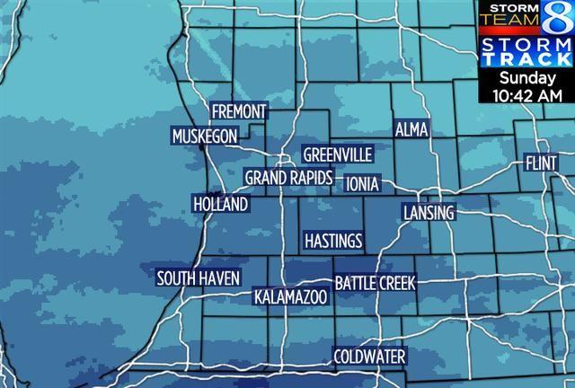 Radar And Satellite Grand Rapids Grand Rapids Michigan West