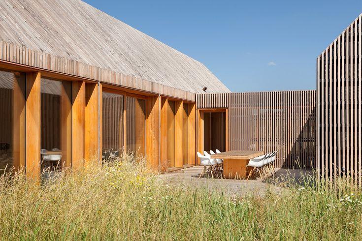 k hnlein architektur wohnhaus aus holz haselbach anbau pinterest haus wohnhaus und holz. Black Bedroom Furniture Sets. Home Design Ideas