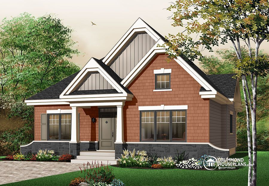 house plan Keystone No. 3104 (With images) Cottage style