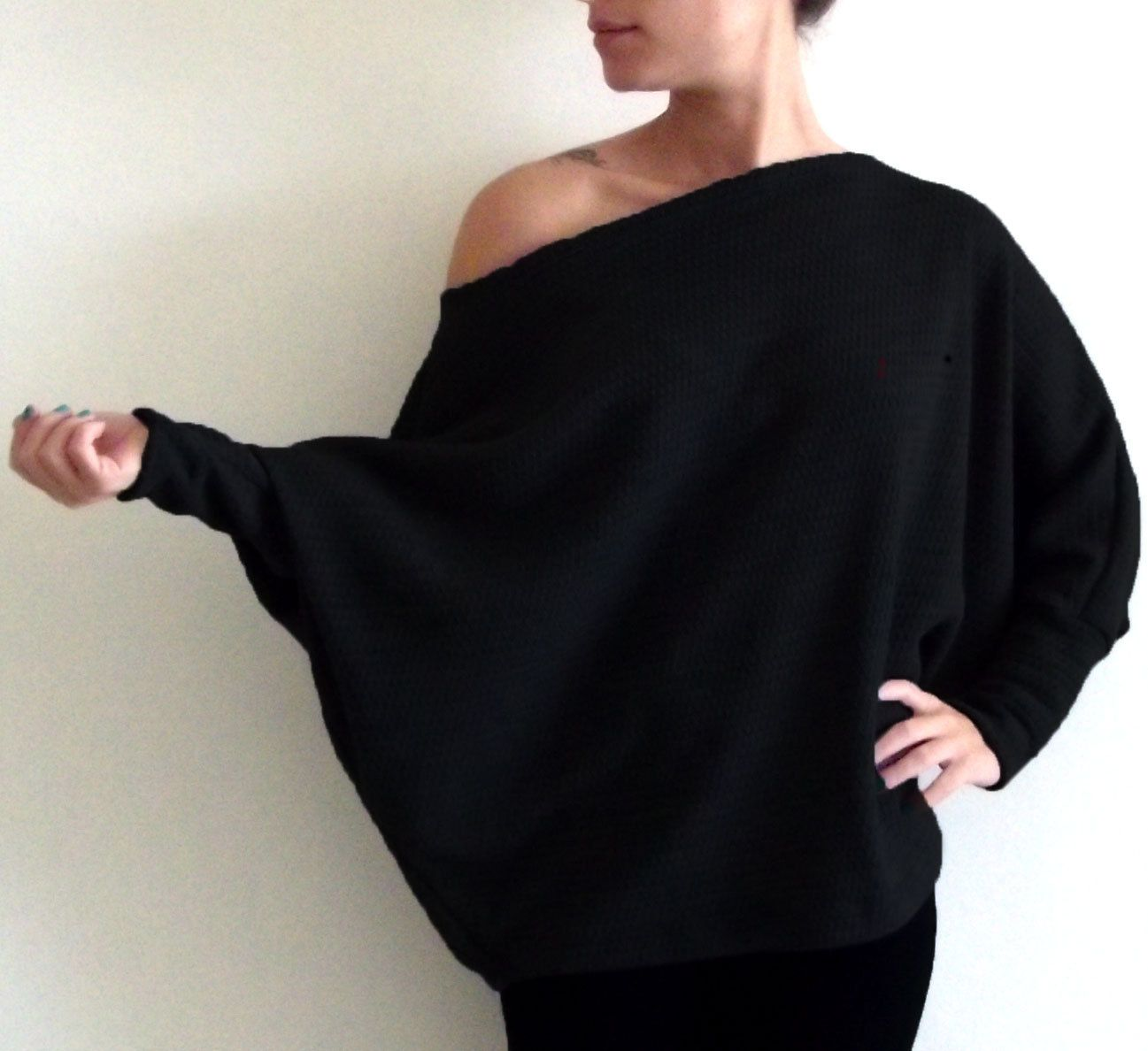 Long Top- Women long sweater, Women's long sweater top, Plus size ...