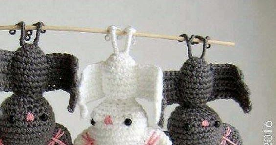 Fledermaus Häkelnanleitung Kostenlos Handarbeiten Crochet