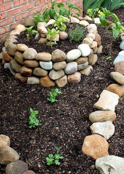 8 Ideas Para Decorar El Jardin Con Piedras Jardin Con Piedras Jardines Piedras Decorativas Para Jardin