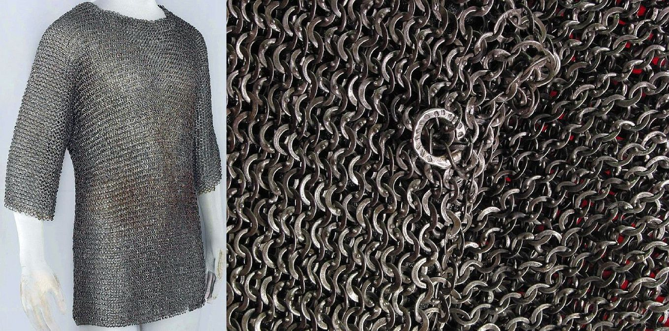 Len Augsburg european riveted mail hauberk augsburg germany late 14th century