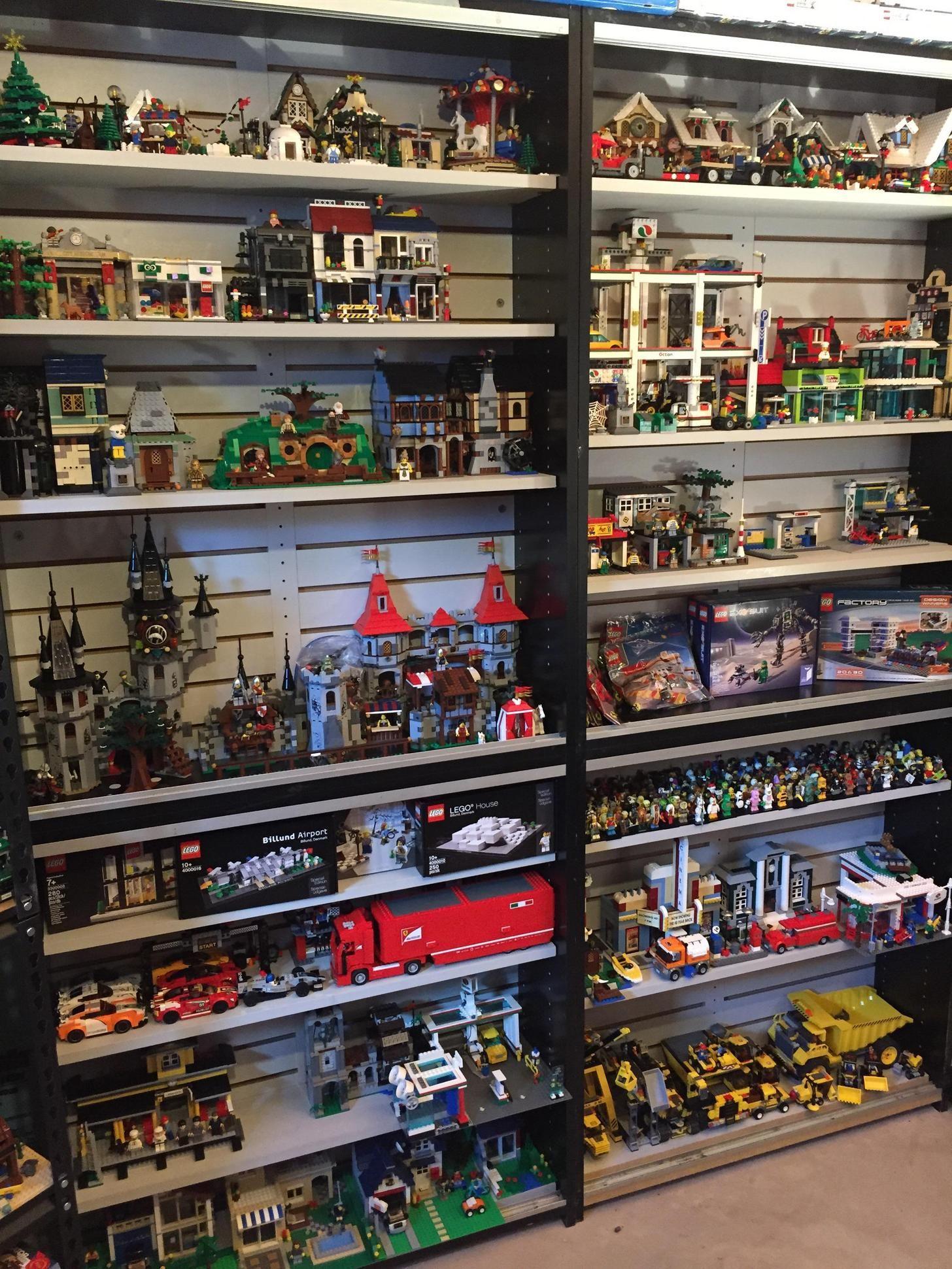 My Lego Collection Lego Room Lego Display Lego Room Decor