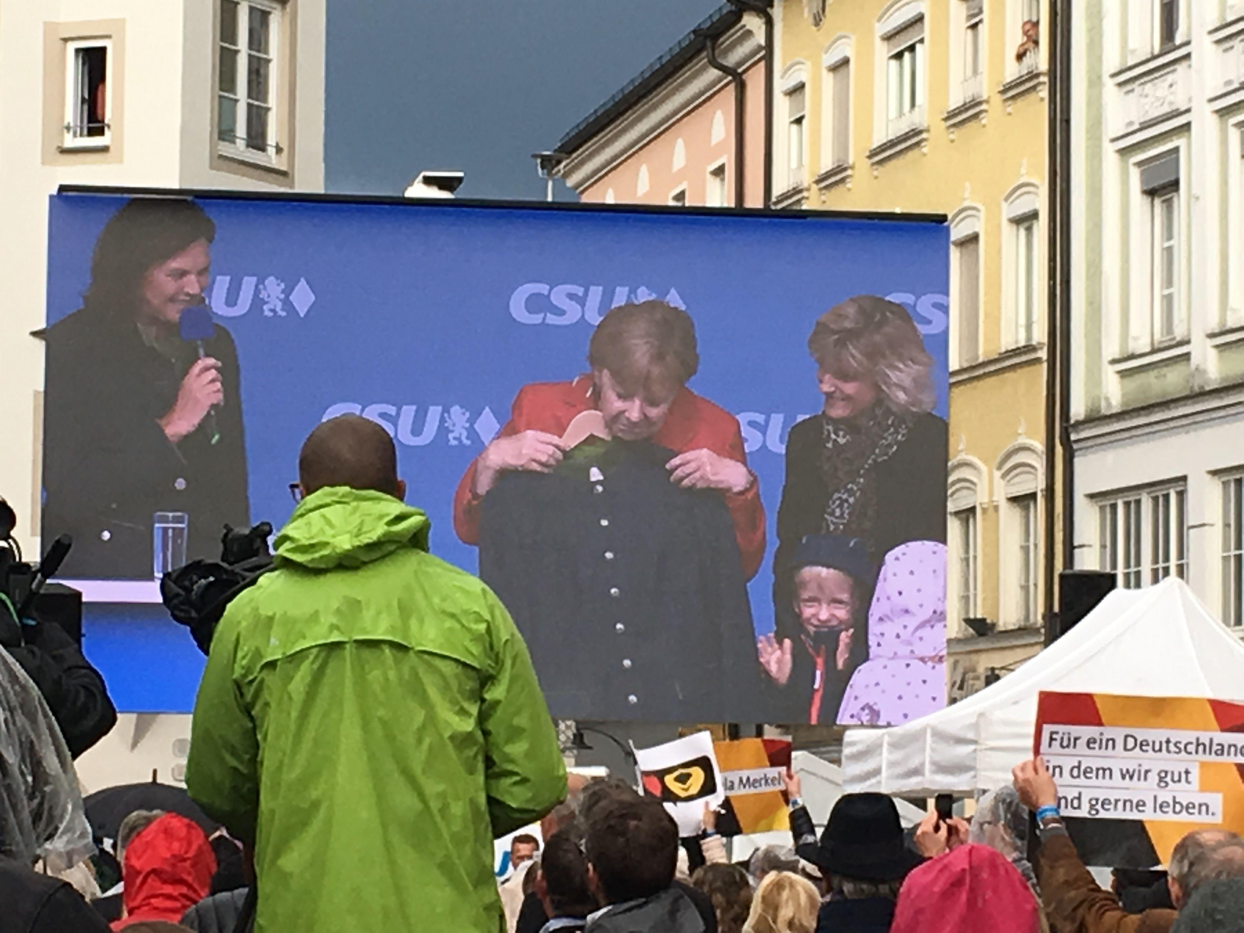 Angela Merkel In Rosenheim Antje Privat Pinterest