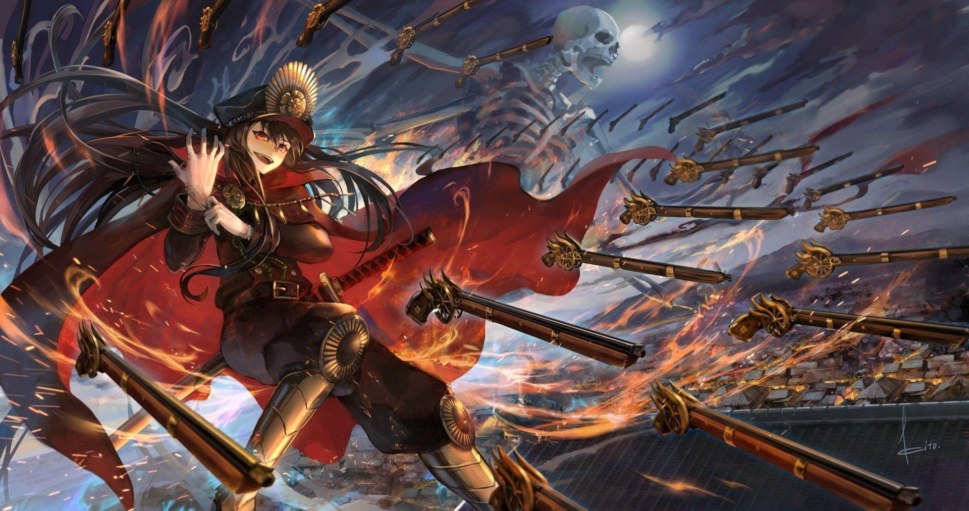 Fate Series Fategrand Order Oda Nobunaga Fategrand Order