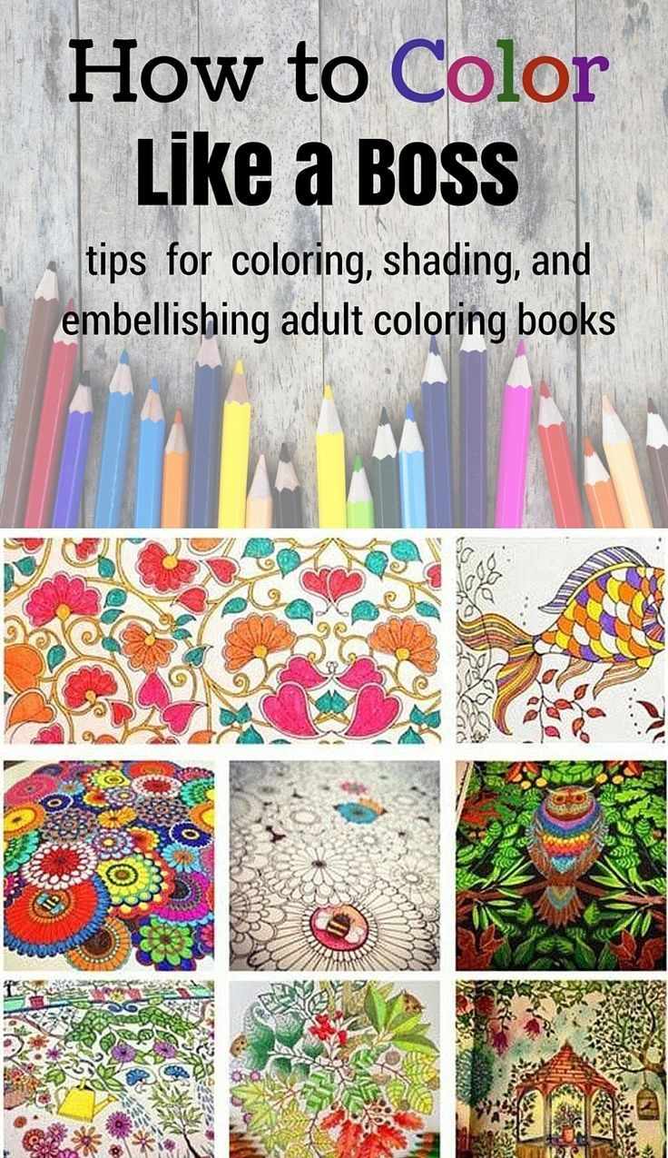 Learn How To Rock Coloring Books With These Tips And Tricks For Awesome Shading Embellishments