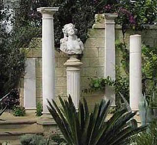 garden columns. Love Columns-add To Corner Of My Garden! Garden Columns