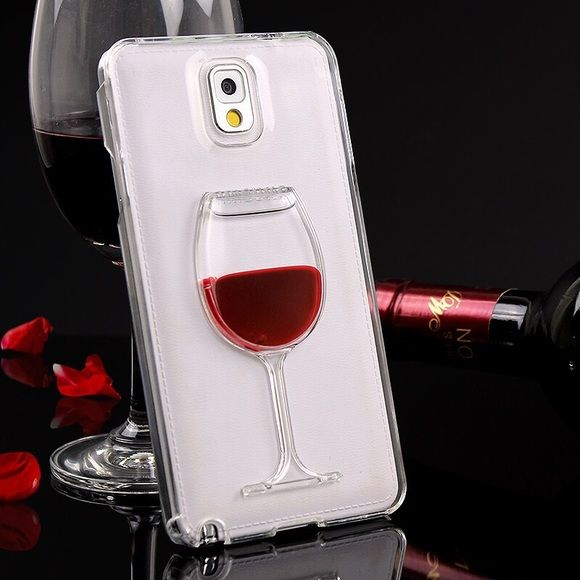 🍷 Wine🍷 Phone Case Real liquid in the phone case. Also available for Galaxy s6 Accessories Phone Cases