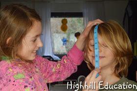 Highhill Homeschool: Leonardo da Vinci Vitruvian Man Activity for Kids