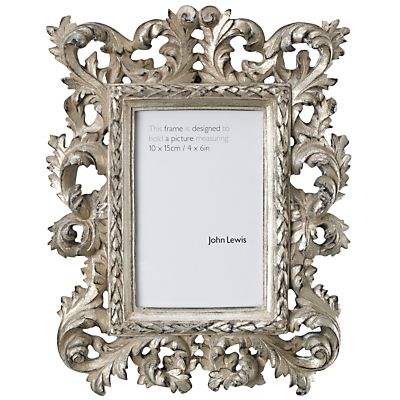 Buy John Lewis Ava Photo Frame Champagne 4 X 6 10 X 15cm Online At Johnlewis Com John Lewis Frame Photo Frame