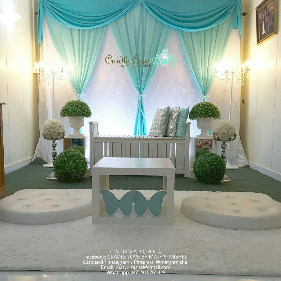 MINI PELAMIN DECOR In Tiffany Blue