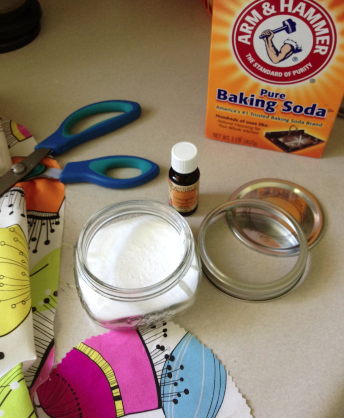 Diy Ball Jar Baking Soda Room Deodorizer Room Deodorizer Ball
