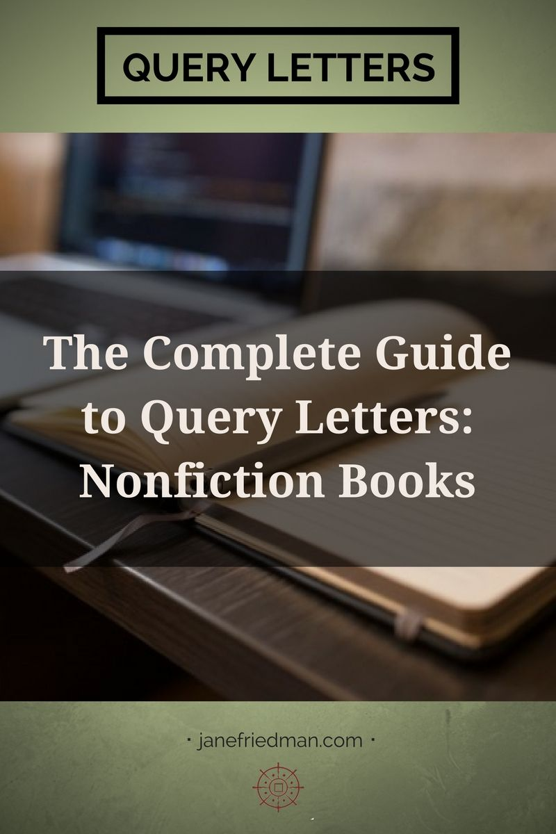 A query letter for a nonfiction book isn't all that