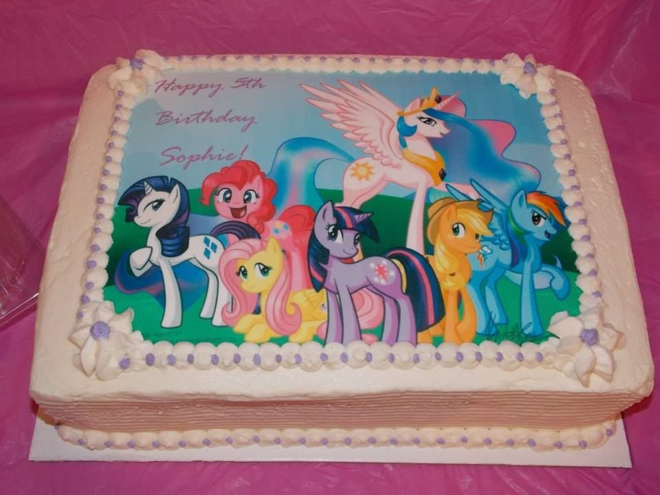 My Little Pony Cake By Carrie S Cakery With Images Pony
