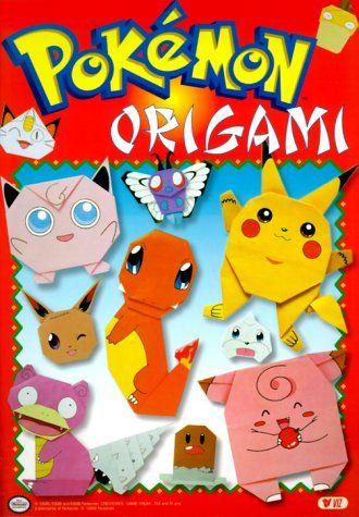 Pokemon Origami By Ryoko Nishida