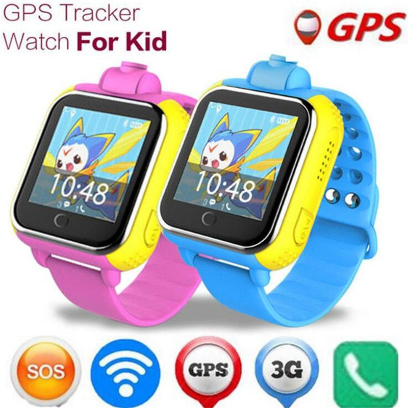 Smart Watches Wearable Devices Smart Watch Kids Wristwatch Touch Screen Gprs Locator Tracker Anti-lost Smartwatch Baby Watch With Remote Camera Sim Calls