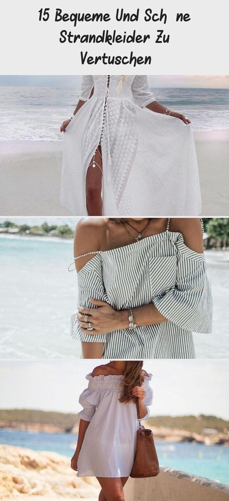 9 Bequeme und schöne Strandkleider zu vertuschen #bequeme #schone