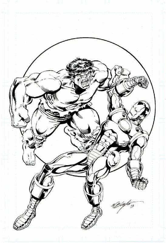 Hulk vs Iron Man Comic Art Comic Books Hulk vs iron