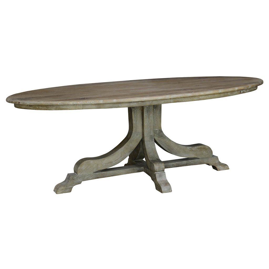 Aimee Oval Dining Table Oval Table Dining Dining Table Oval Pedestal Dining Table
