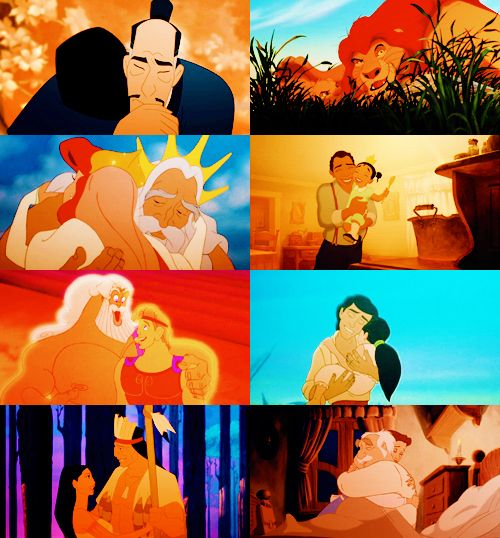 Daughter and Father of Disney
