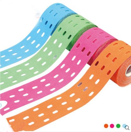 New Hole kinesiology Tape 5cmx5m breathable Kinesio Elastic Tape for Support & Healing Pain and Stress Relief Athletic Tape #clothing,#shoes,#jewelry,#women,#men,#hats,#watches,#belts,#fashion,#style