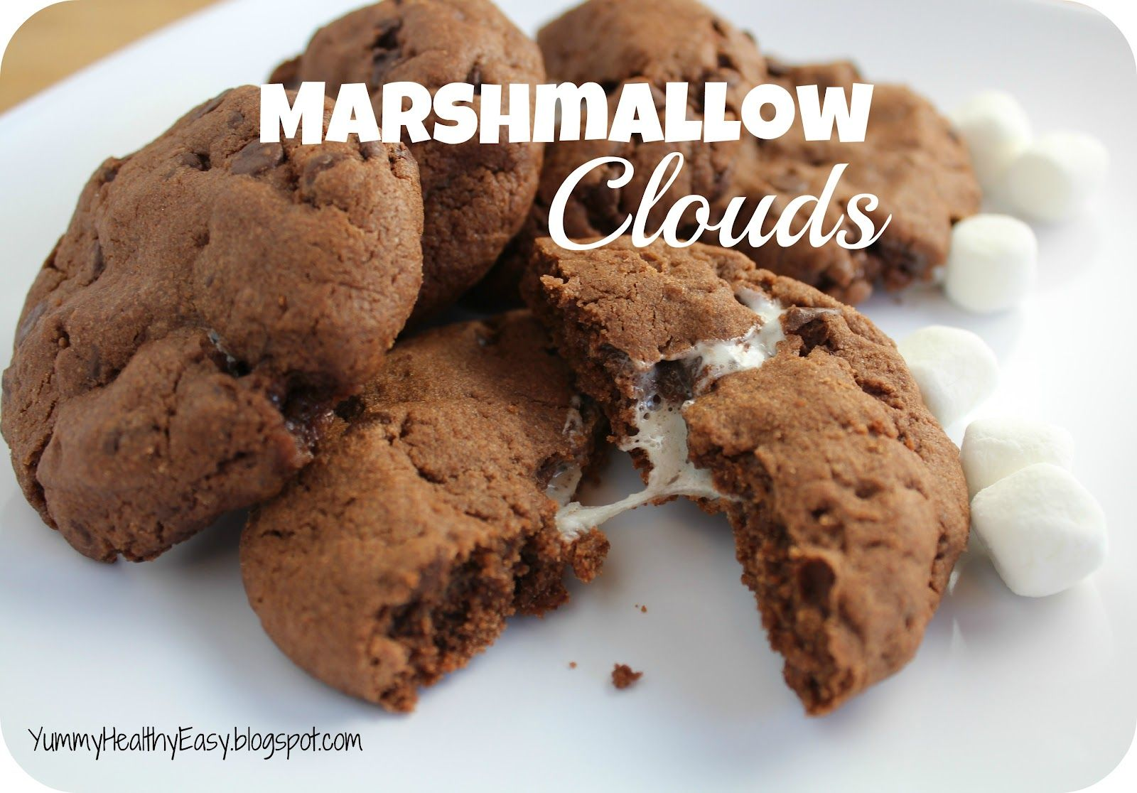 Yummy - Healthy - Easy: Marshmallow Cloud Cookies
