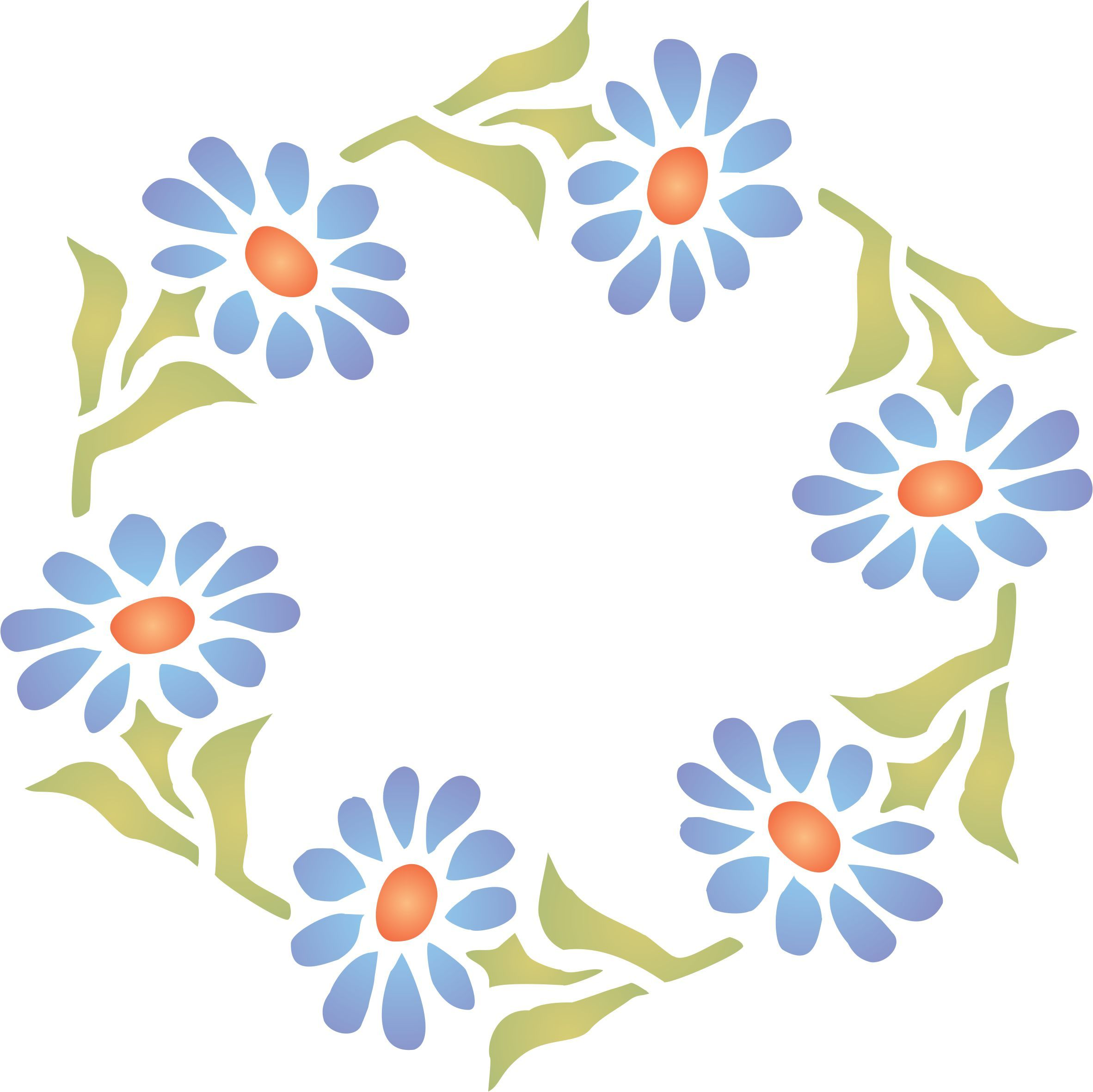 Gerber daisy wreath stencil httpamazondpb00ydw7izqm gerber daisy wreath stencil httpamazondp amipublicfo Gallery