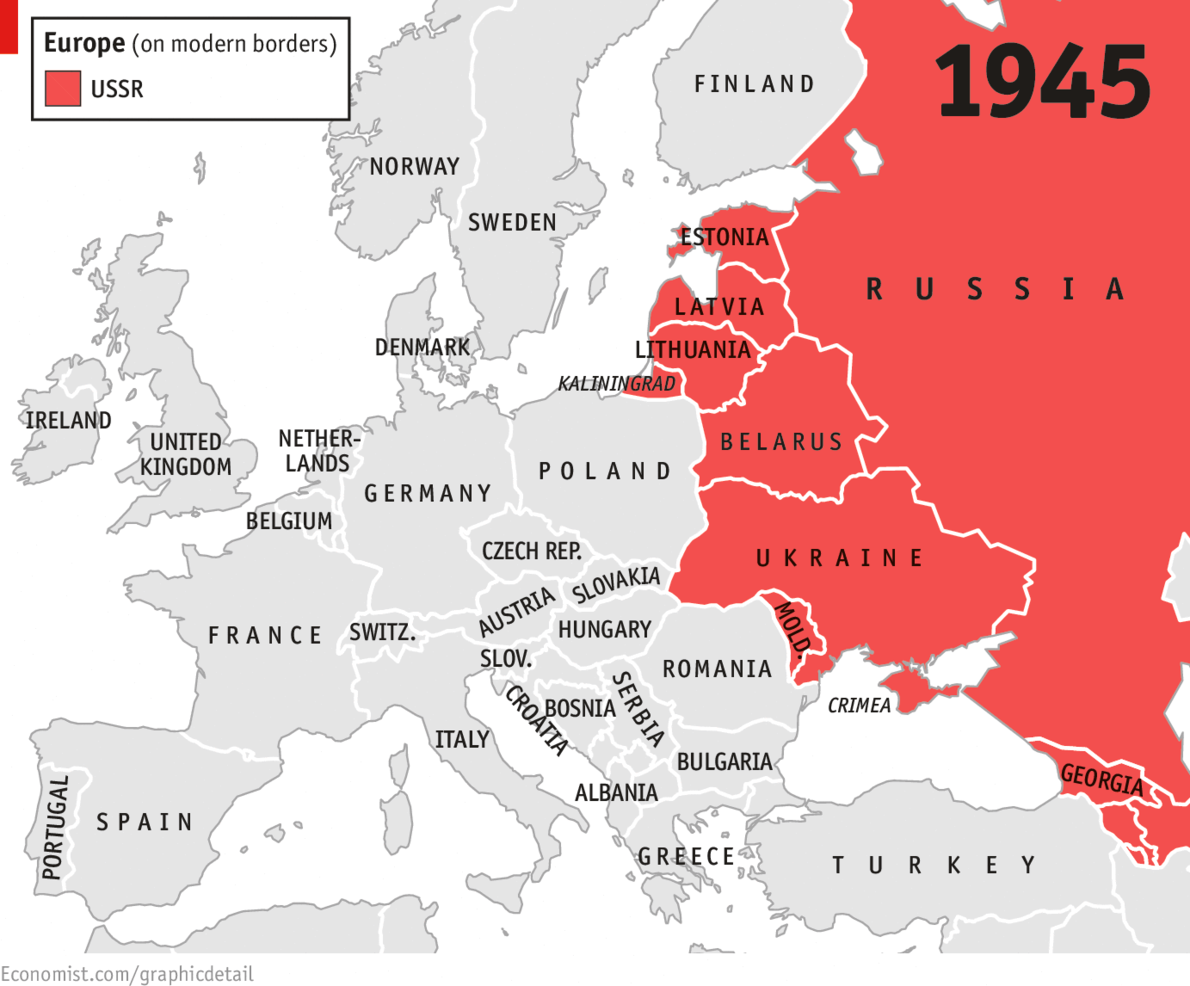 Historical Maps Of Russia USSR Territorial Expansion - Modern map of georgia us