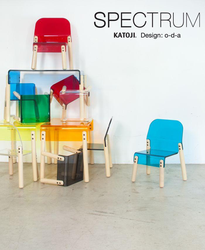Katoji Spectrum 子供用家具 子供家具 アクリル家具
