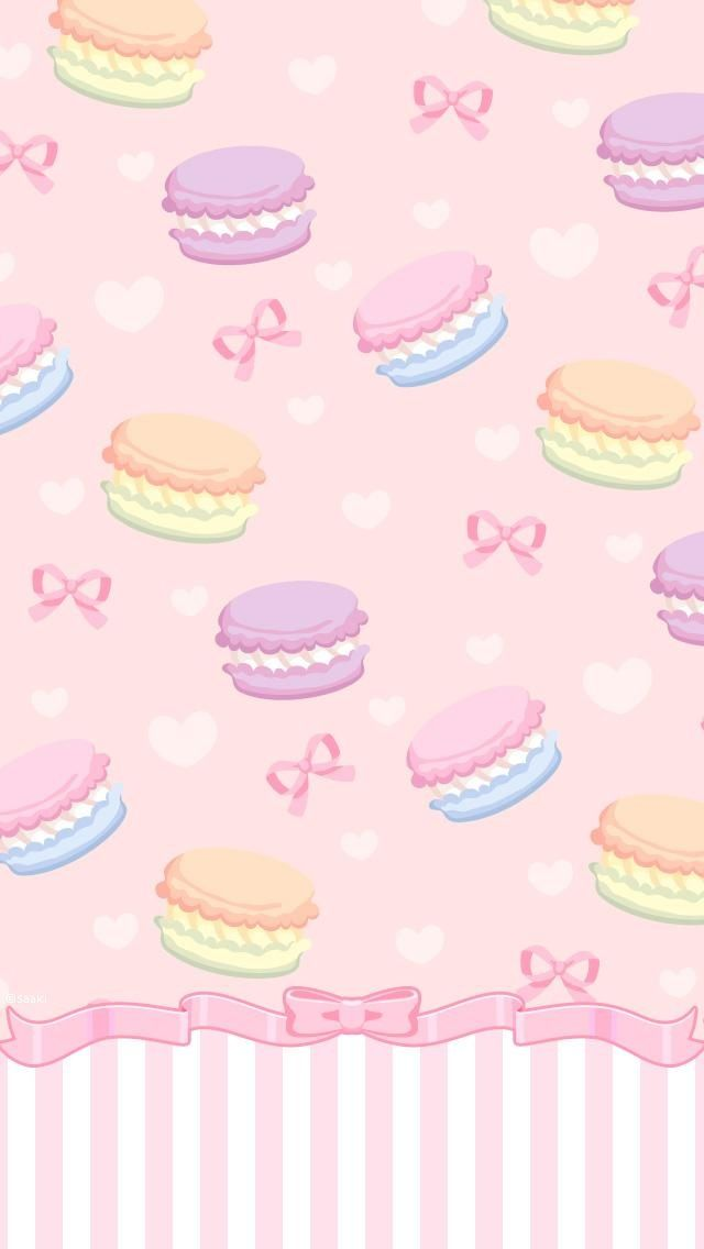 Cute wallpaper girly wallpapers macaroon wallpaper - Macaron iphone wallpaper ...
