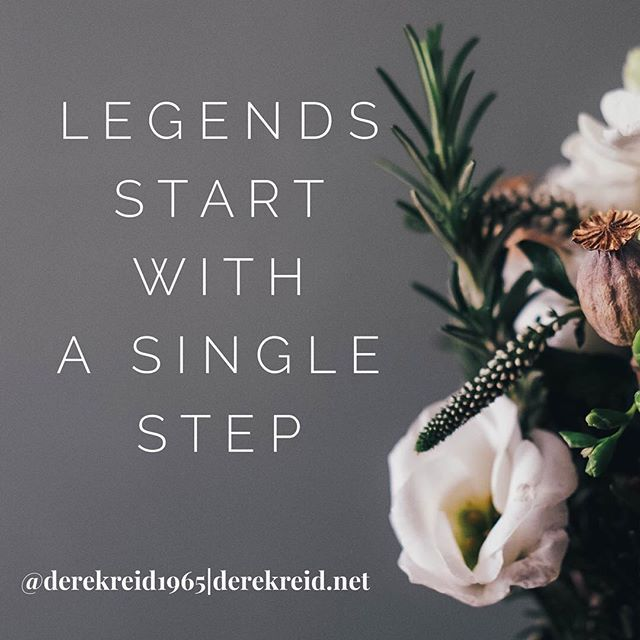 Just a single step... double tap who agrees.