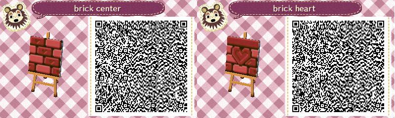 Red Brick Floor Path Animal Crossing Qr Animal Crossing Qr Codes Animal Crossing