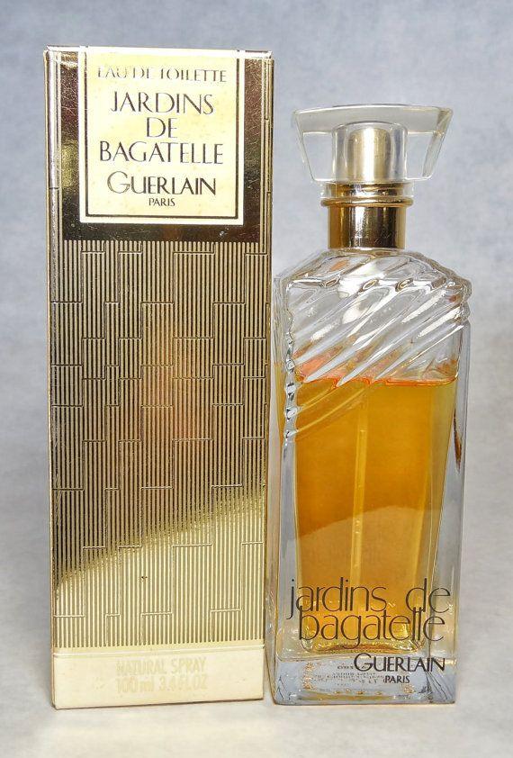 Vintage Guerlain Jardins De Bagatelle Eau De Toilette Spray 3 4 Fl Oz Perfume Bottles Perfumery Perfume