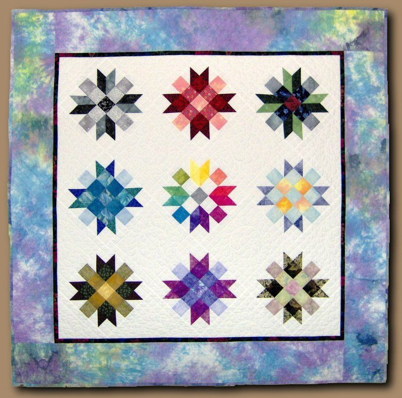 Oct 19 - COLOUR FOR THE TERRIFIED QUILTER - Colour & Value - 1 Day Workshop www.sergesew.com