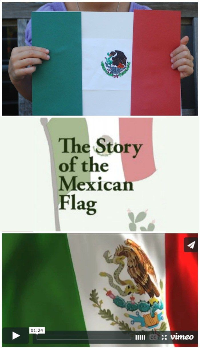 The Story Of The Mexican Flag Mexican Flags Independence Day Activities Mexico For Kids