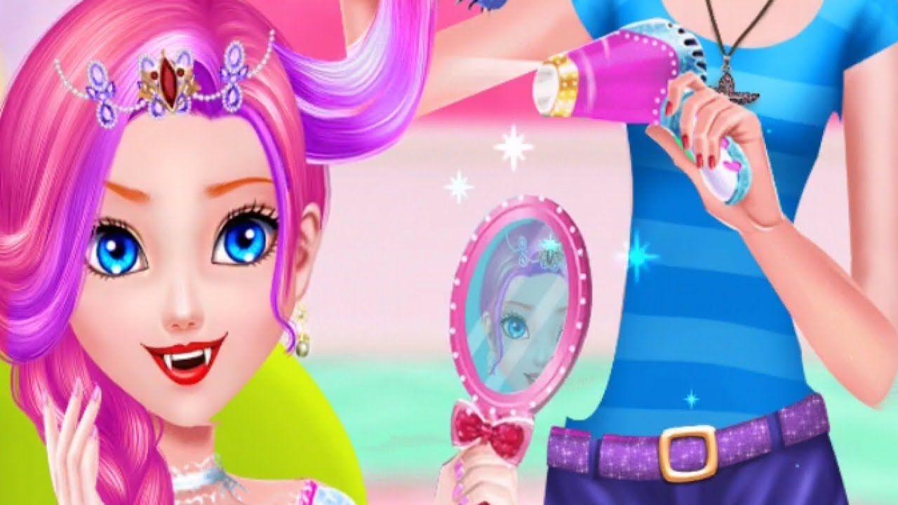 Vampire Girl Wedding Hair Salon - Fun Hairstyle Games For Girls
