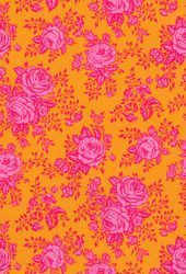 Photo of Bright Pink & Orange Floral iPhone Wallpaper