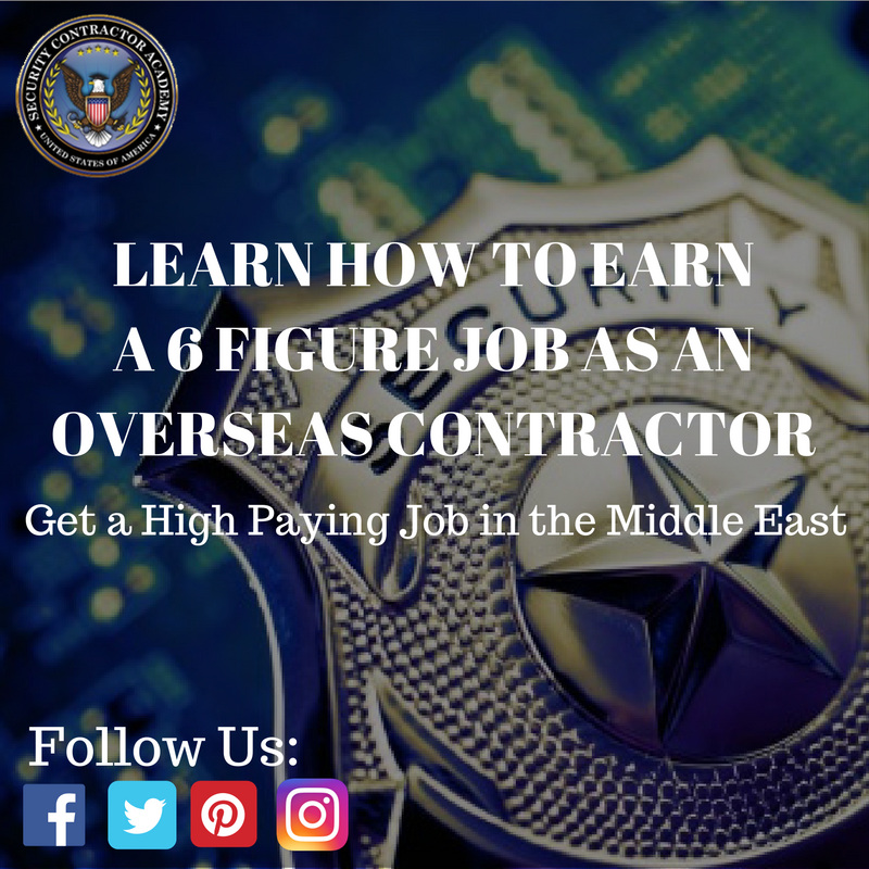 You Are In Demand For High Paying Contractor Jobs Throughout The World Watch How Career Security Securitycontractor