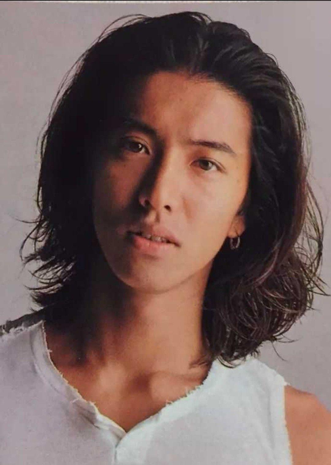 Takuya Kimura メンズヘアスタイル ロング メンズ 長髪 メンズ ヘアスタイル