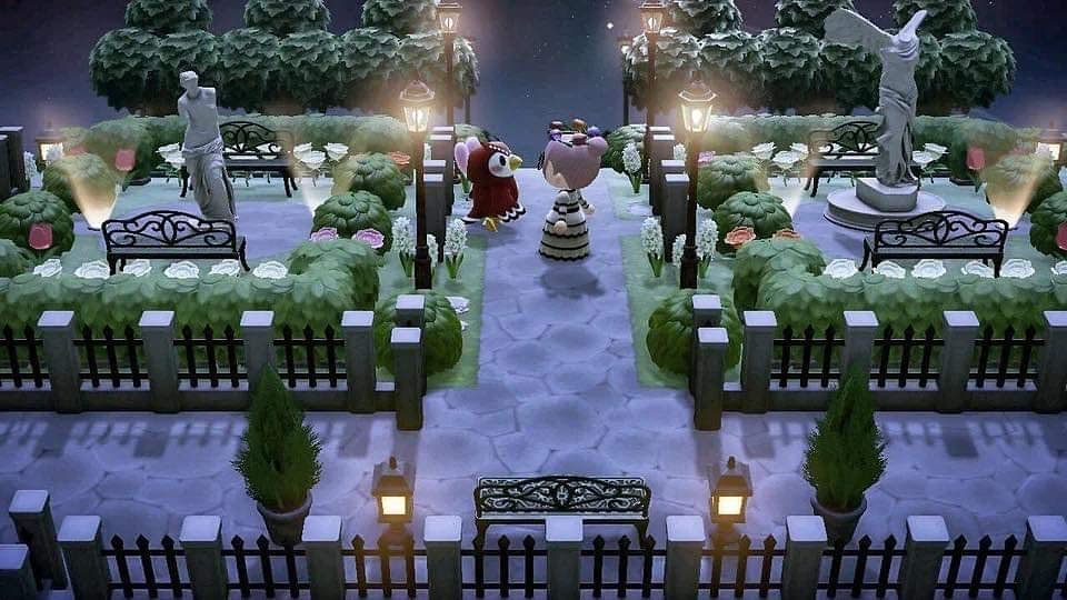 "Animal Crossing New Horizons on Instagram: ""Fancy garden ..."