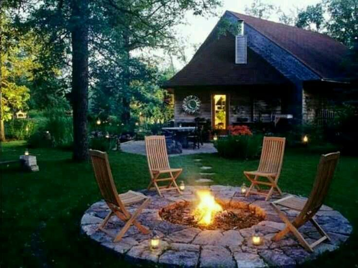Pin by tiffany sazo on dream home pinterest a firepitpatio area like this needs to be my fall diy project has anyone out there done one these themselves to offer any helpful hints solutioingenieria Gallery