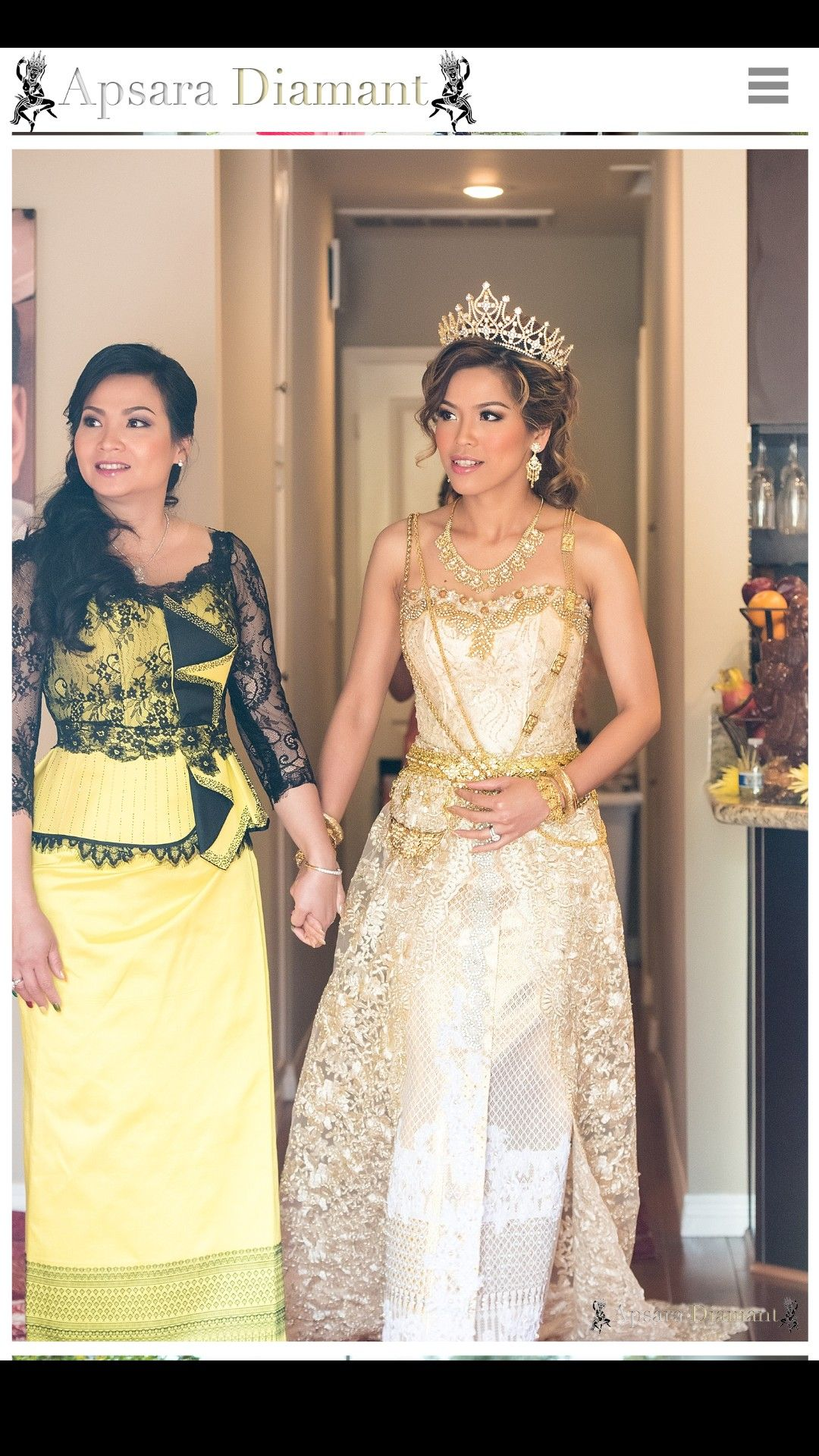 Cambodian Wedding Khmer Ceremony Traditional Weddings Dresses American Outfits Gowns